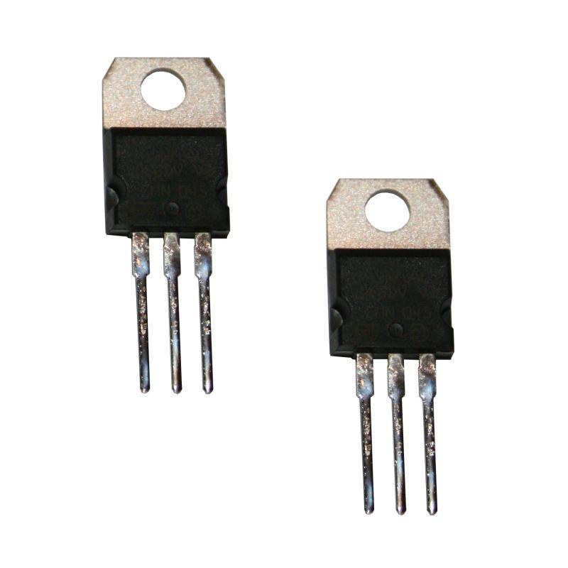 2 Transistors MOSFET N-Channel 16A 60 Vdc