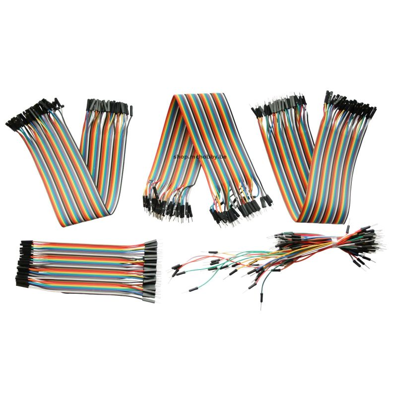 Fils pour Breadboard (Assortiment + Extra)