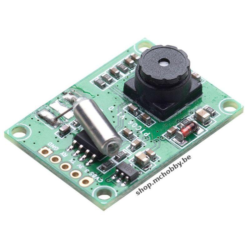 [T] - MINI capteur photo JPEG (port série) + Caméra video NTSC