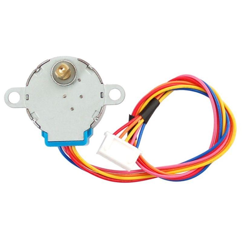 Stepper motor - 5V, 32 step, 1/16 gearbox