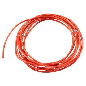 [T] - 2m fil multi-brin ROUGE, 26 AWG, Silicone