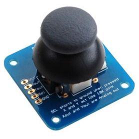 2 axis analog joystick + button