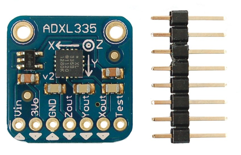 accelerometre arduino