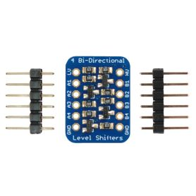 4 Channels Logic Level converter - Bi-Directionnal - I2C compatible