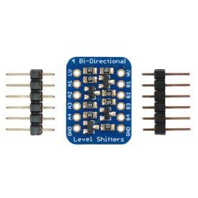[T] - Convertisseur Logique 4 Canaux - Bi-Directionnel - I2C compatible
