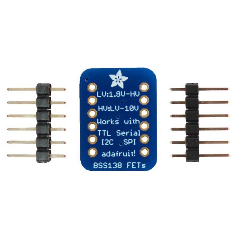 4 Channels Logic Level converter - Bi-Directionnal - I2C compatible