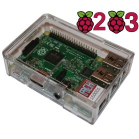 Pi Box Plus a crystal case for Raspberry Pi