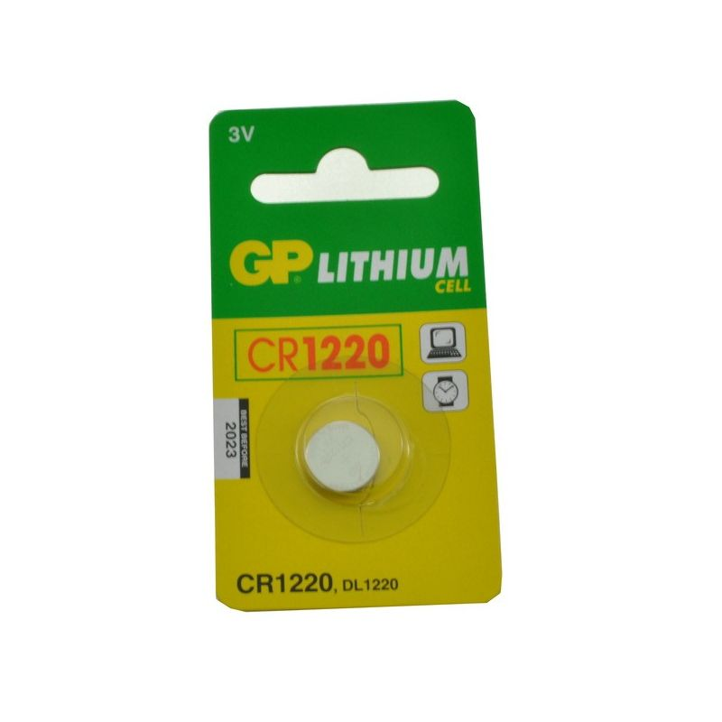 Pile bouton CR1220