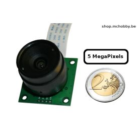 Camera Pi CS Mount - 5MP - objectif interchangeable