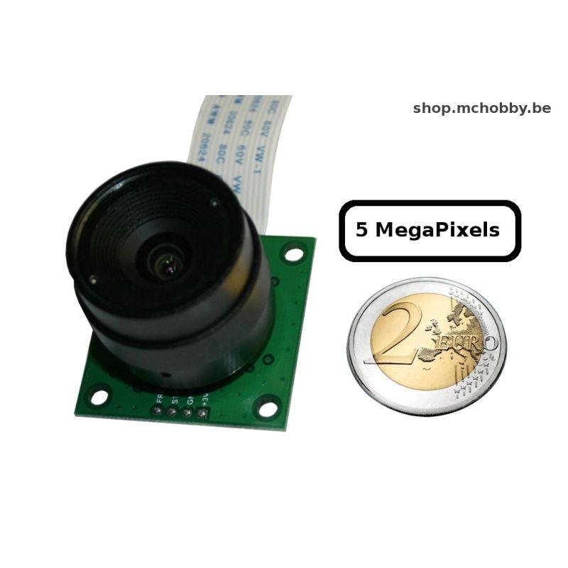 Camera Pi avec support objectif