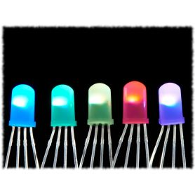 5x LED Diffuse Neopixels 5mm