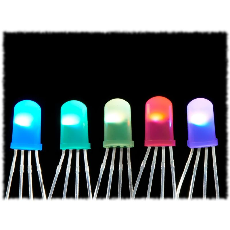 5x LED Diffuse Neopixels 5mm