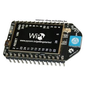 [T] - WiPy v1.3 - Python Microcontroller with WiFi support