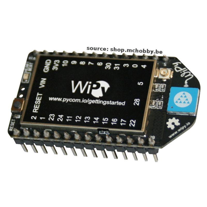 WyPi - Microcontroleur Python avec support WiFi