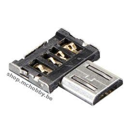 [T] - Tiny OTG - Adaptateur micro USB vers USB