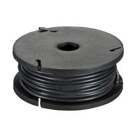 [T] - 7.5m fil multi-brin NOIR, 26 AWG, Silicone