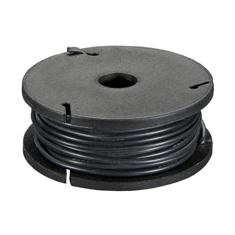 7.5m fil multi-brin NOIR, 26 AWG, Silicone, bobine