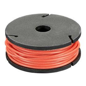 [T] - 7.5m fil multi-brin ROUGE, 26 AWG, Silicone