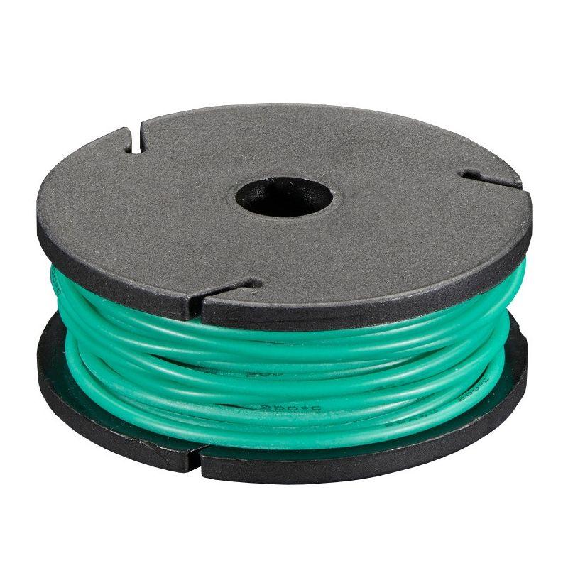 7.5m fil multi-brin VERT, 26 AWG, Silicone, bobine