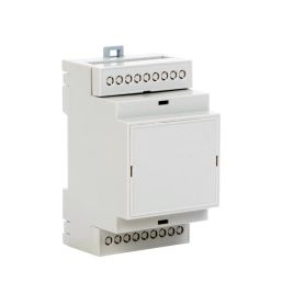 DIN Rail modular case - 3 positions