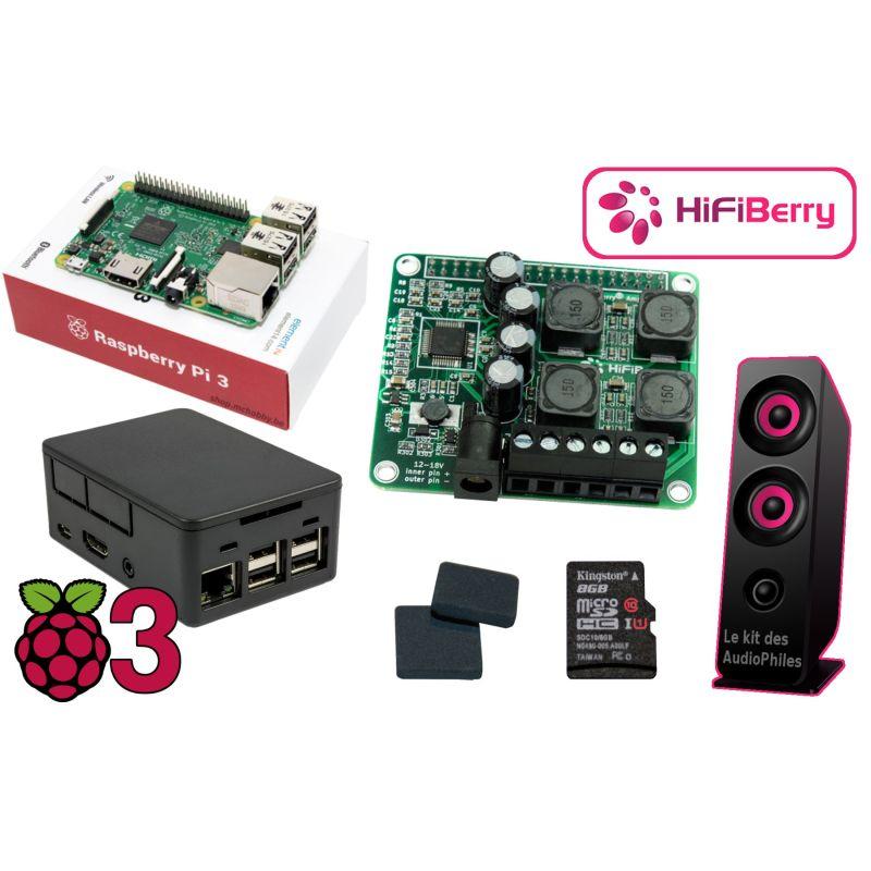 Le kit raspberry-pi des audiophiles