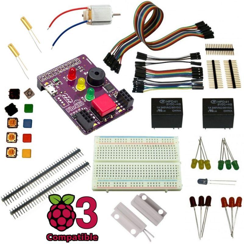 PiBrella Pack pour Raspberry-Pi