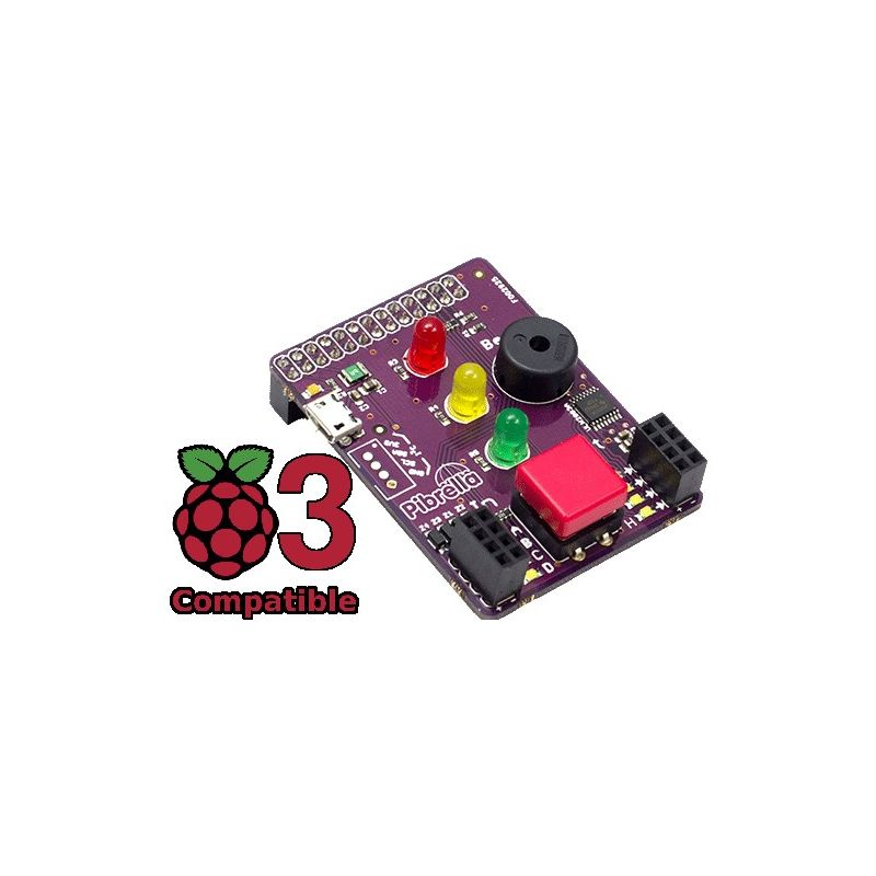 Pibrella pour Raspberry-Pi