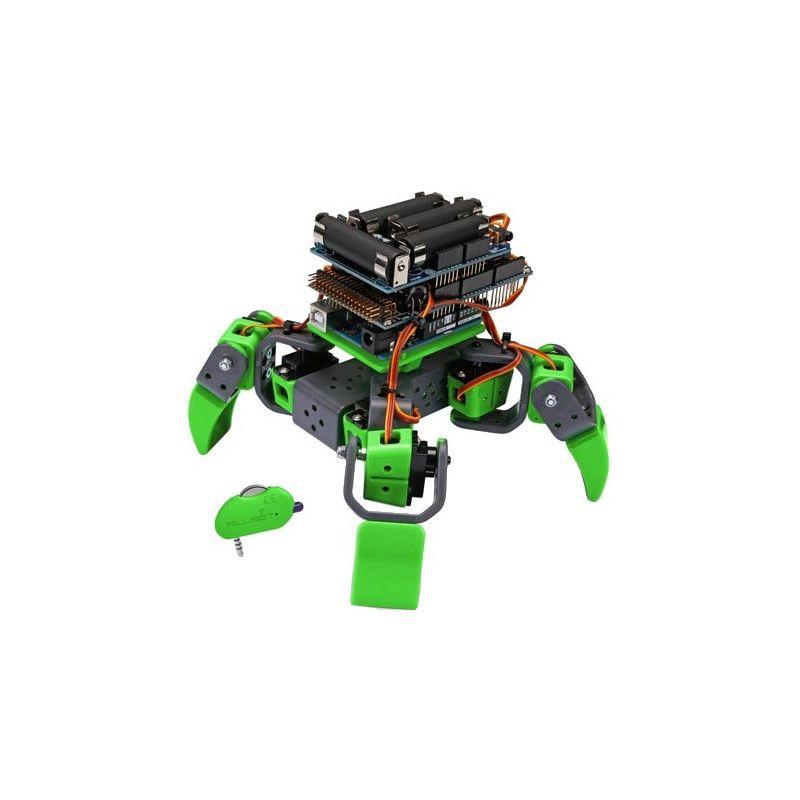 Robot 4 pattes servos pour Arduino (VR408)