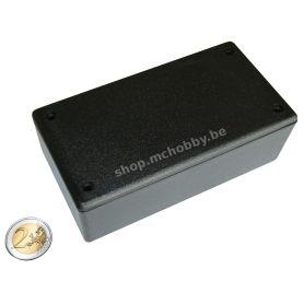 Boîtier Plastique Noir 130 x 70 x 45mm