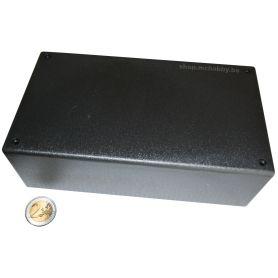 Boîtier Plastique Noir 200 x 110 x 65mm