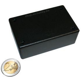 Boîtier Plastique Noir 85 x 55 x 30mm