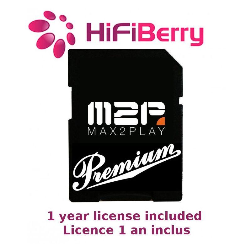 16Go Class 10 Max2Play HiFiBerry Premium