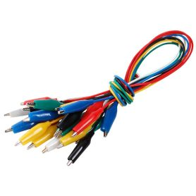 Small alligator clip wires