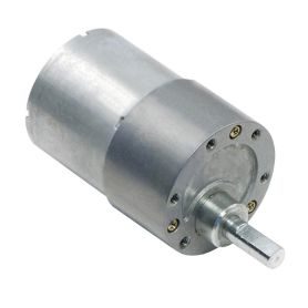 12V 50:1 geabox motor - 6mm D Shaft- 37D - metalic gear