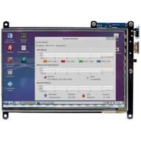 "Ecran 7"" Multi-touch - 1024x600 - Audio + HDMI"