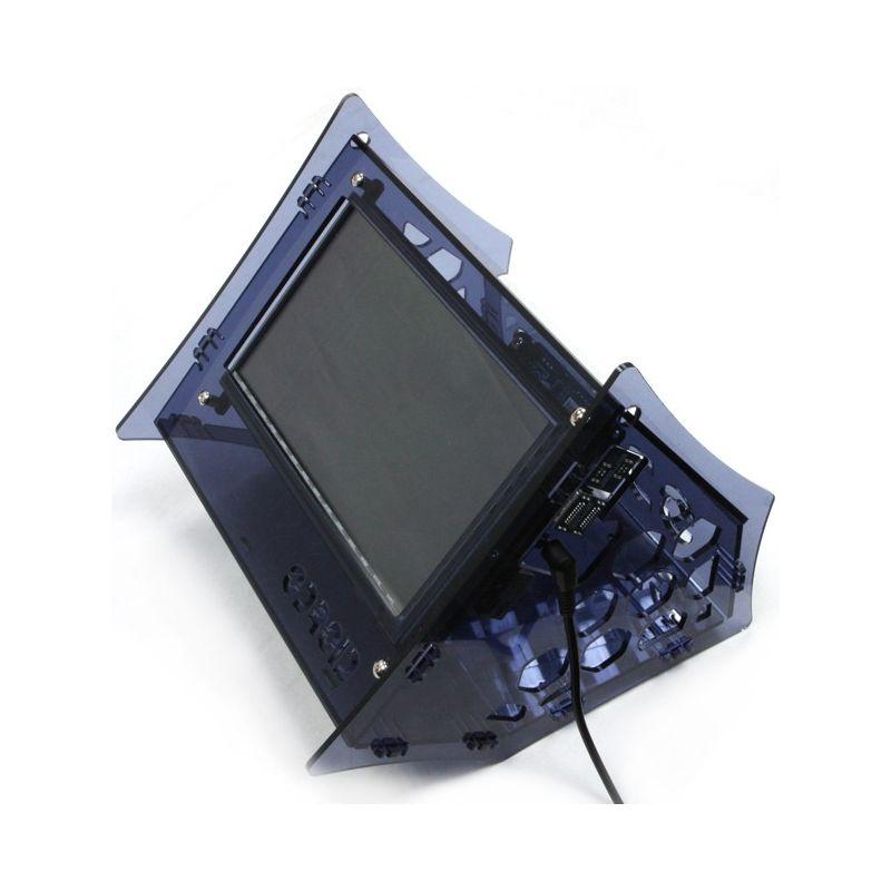 ODroid VU7 screen shell - BlueSmoke