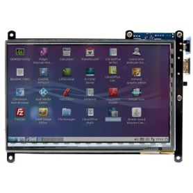 "Ecran 7"" Multi-touch - 800x480 - HDMI"