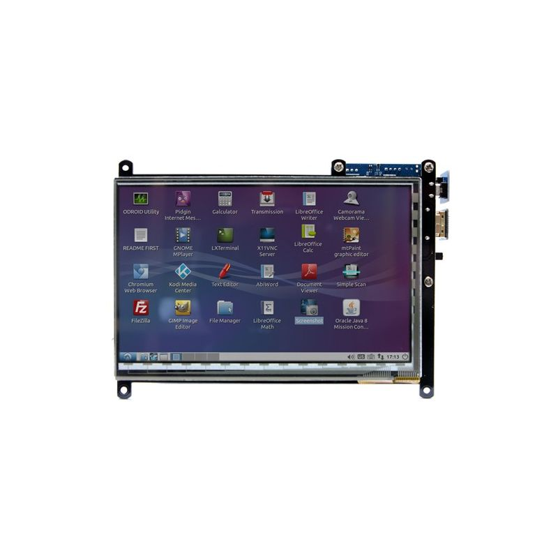 "7"" Multi-touch screen - 800x480 - HDMI"