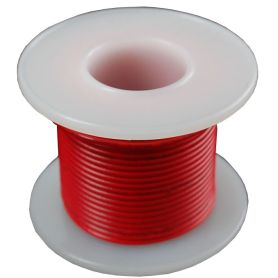Single-strand RED wire coil - 7.50m