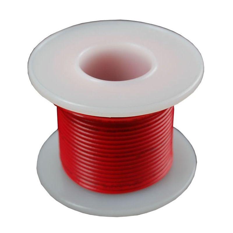 Bobine de fil ROUGE uni-brin - 7.50m