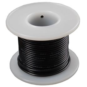 Single-strand BLACK wire coil - 7.50m