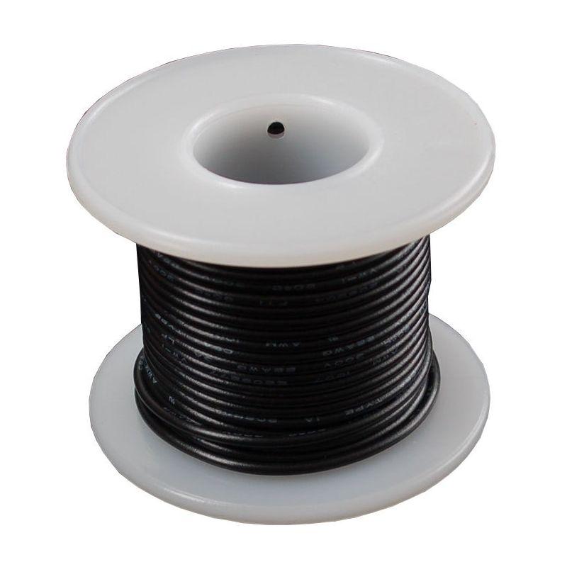 Bobine de fil ROUGE pour montage - 7.50m
