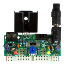 [T] - Alimentation REGLABLE compatible Breadboard - 1.25 Amp - Low DropOut