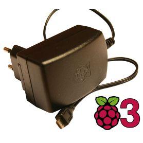 Alimentation Pi 3 (NOIR) - micro USB 5V - 2.5 AMPERE