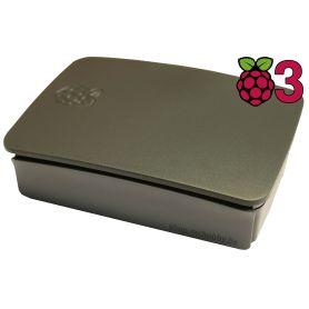 Boitier Raspberry Pi 3 Officiel (NOIR)