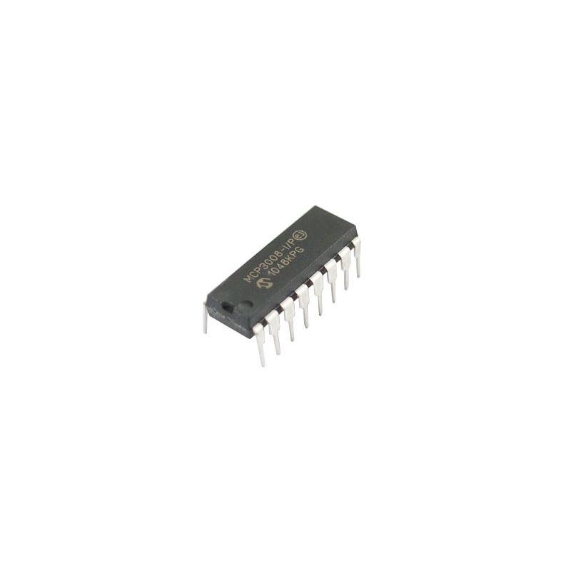 MCP3008 - Convertisseur ADC à 8 canaux