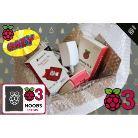 Raspberry Pi 3 Crazy Pack (Pi 3 inclus)