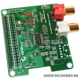 ▷ HifiBerry DAC+ - ADC Input - MCHobby - Vente de Raspberry Pi
