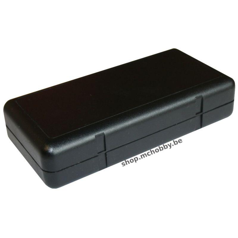 Boitier SOAP noir - 131 x 65 x 30.5mm