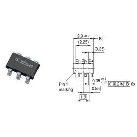 5x LED Driver 10-150mA - Infineon BRC-420U-E6327